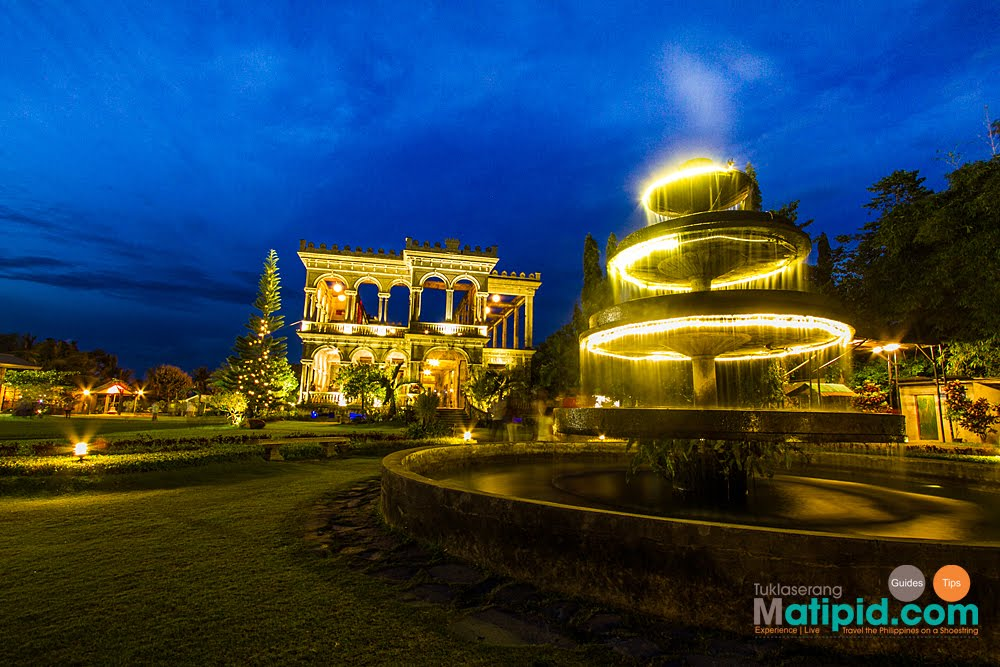The Ruins is a major tourist spot in Bacolod