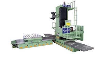 Floor type horizontal boring machine