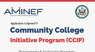 Peluang Beasiswa Community College Initiative Program (CCIP)