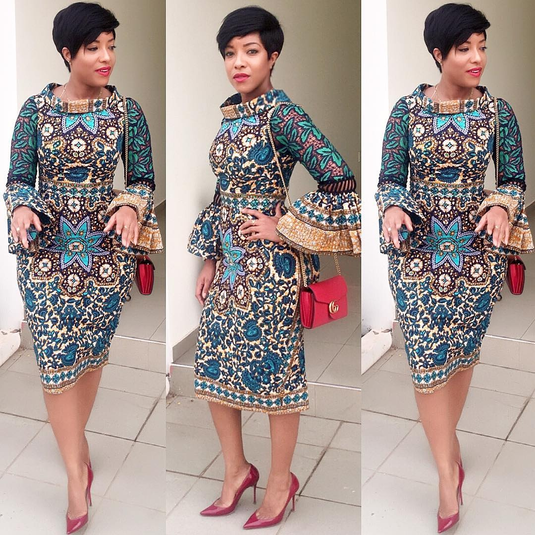 Simple Ankara Gown For Lovely Ladies Dezango Fashion Zone