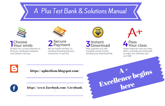 A plus test bank solutions manual google test bank and solution manual aplus team fandeluxe Choice Image