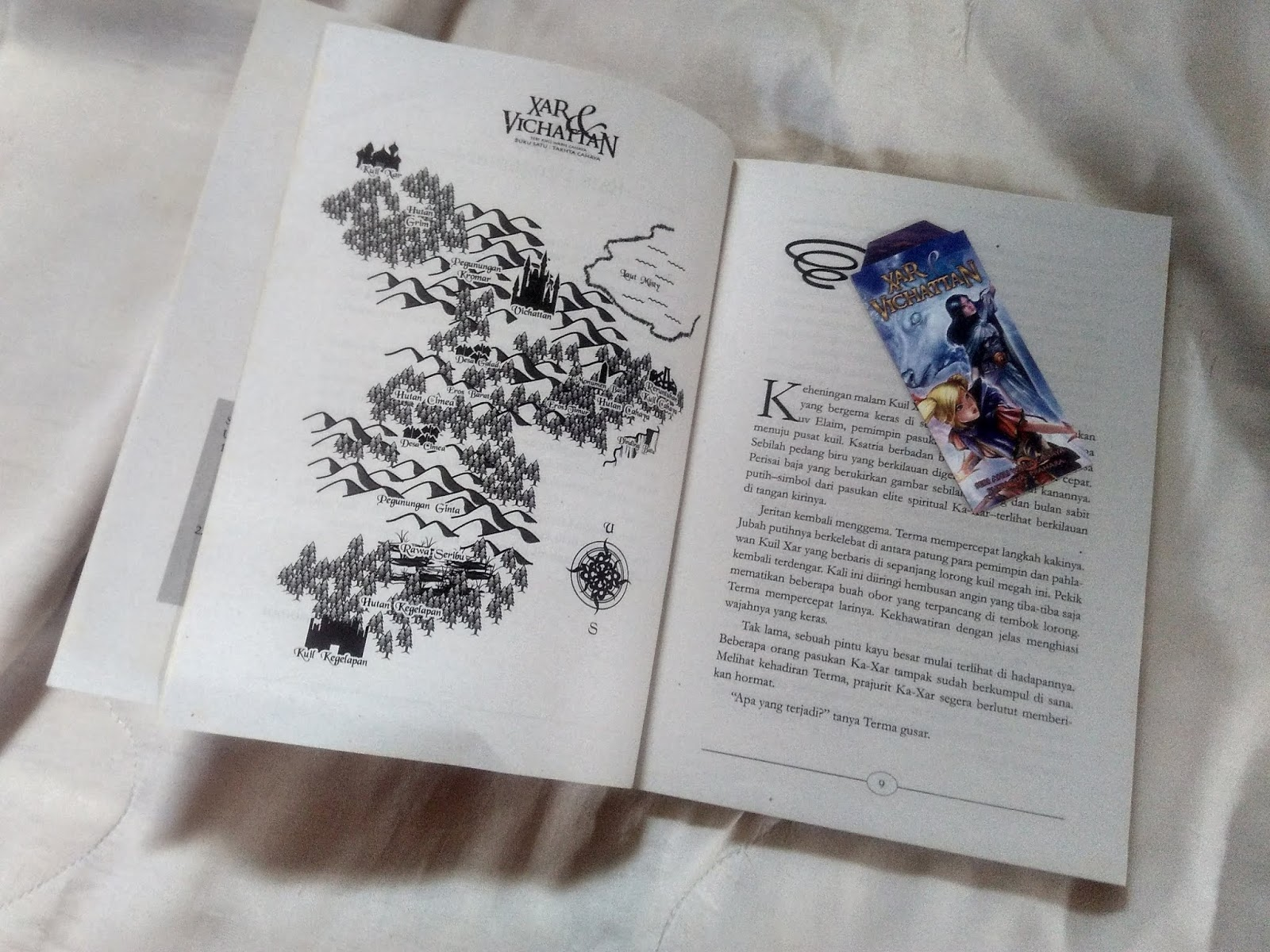 Review Buku Xar & Vichattan: Takhta Cahaya by Bonmedo Tambunan