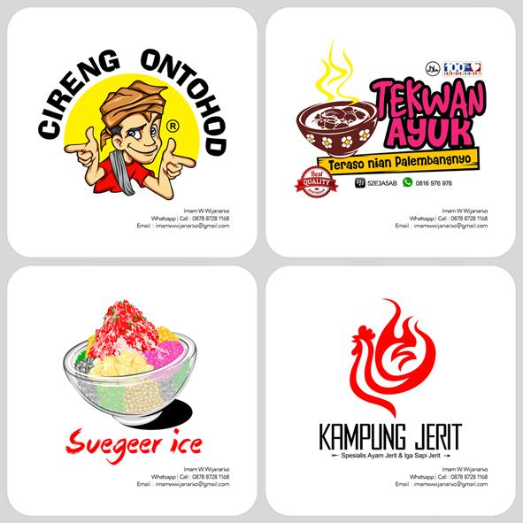 Contoh Desain Logo Kuliner