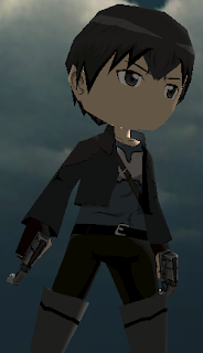 Kirito The Beater Sword Art Online Skin AOTTG