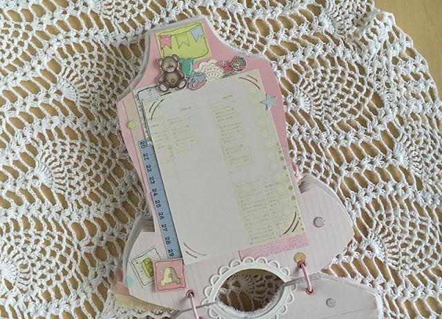 Альбом ручной работы для новорожденной