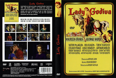 Carátula dvd: Lady Godiva 1955