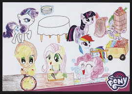 MLP Awesome Meal Time Series 4 Trading Card