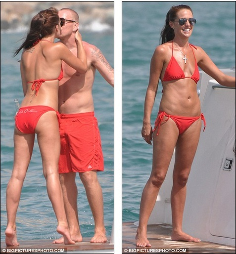 tolle sorten 100% Qualitätsgarantie erstklassiger Profi Anyone would think they were on honeymoon! Danielle Lloyd ...