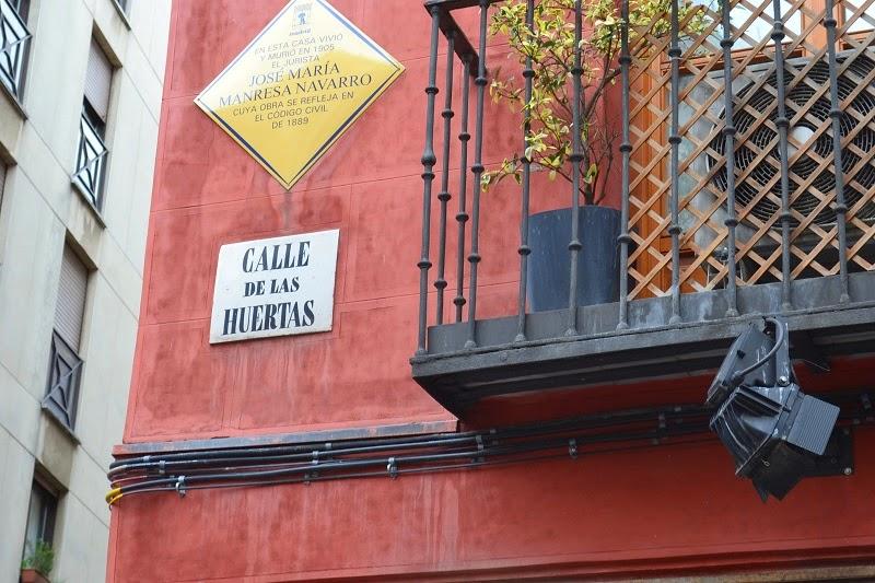 Madrid, espagne, Lavapies, Huertas