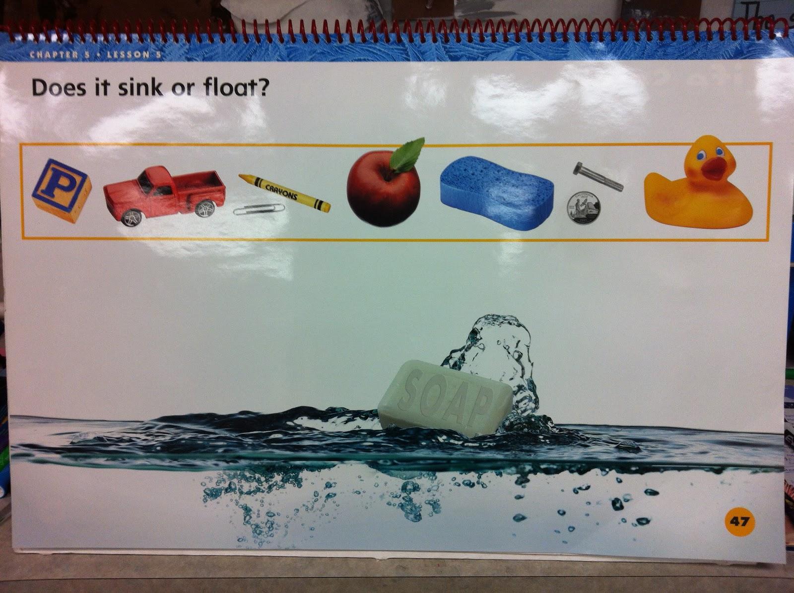Little Miss Hood S Adventures In Kindergarten Sink Or Float