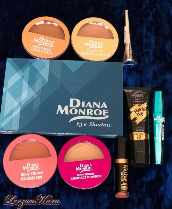 Diana Monroe Profesyonel Makyaj Ürünleri