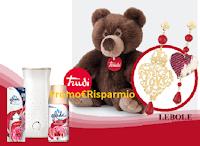 Logo 'Vinci amore con Glade'': in palio 490 Trudi, 49 buoni spesa Lebole da 250€ e 3 da 800€