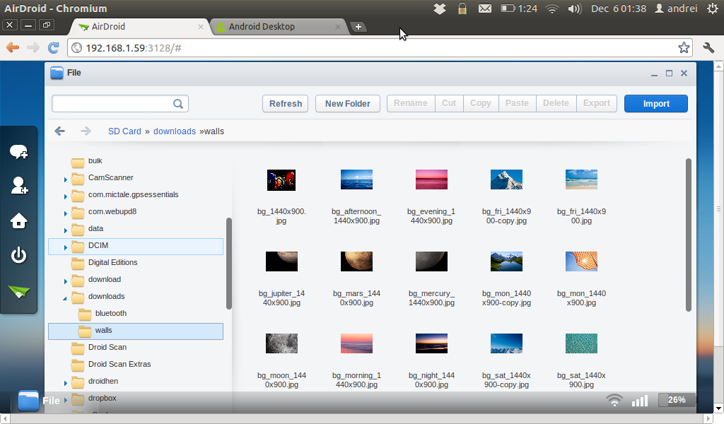 AirDroid: Manage Your Android Device Using A Browser