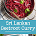 Sri Lankan Beetroot Curry