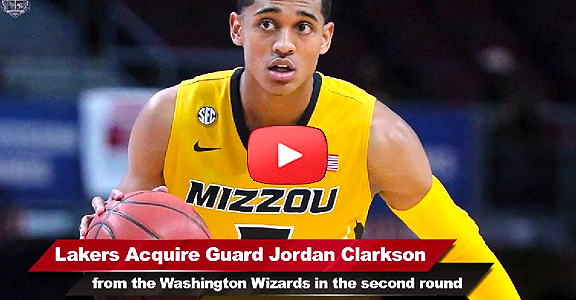 NBA Draft 2014: Lakers acquire Fil-Am Jordan Clarkson in second round (VIDEO)