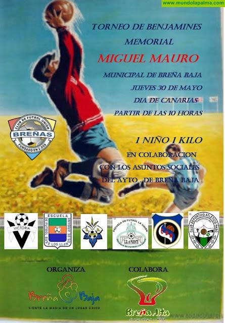 """UNIÓN BREÑAS: Torneo de Fútbol Benjamines Memorial """"Miguel Mauro"""""""