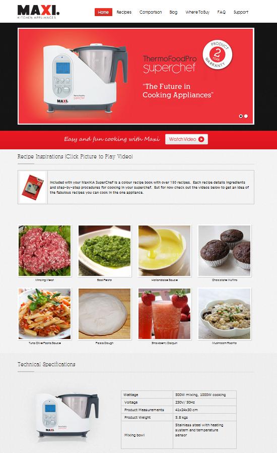 Bellini Intelli Kitchen Master Recipe Book