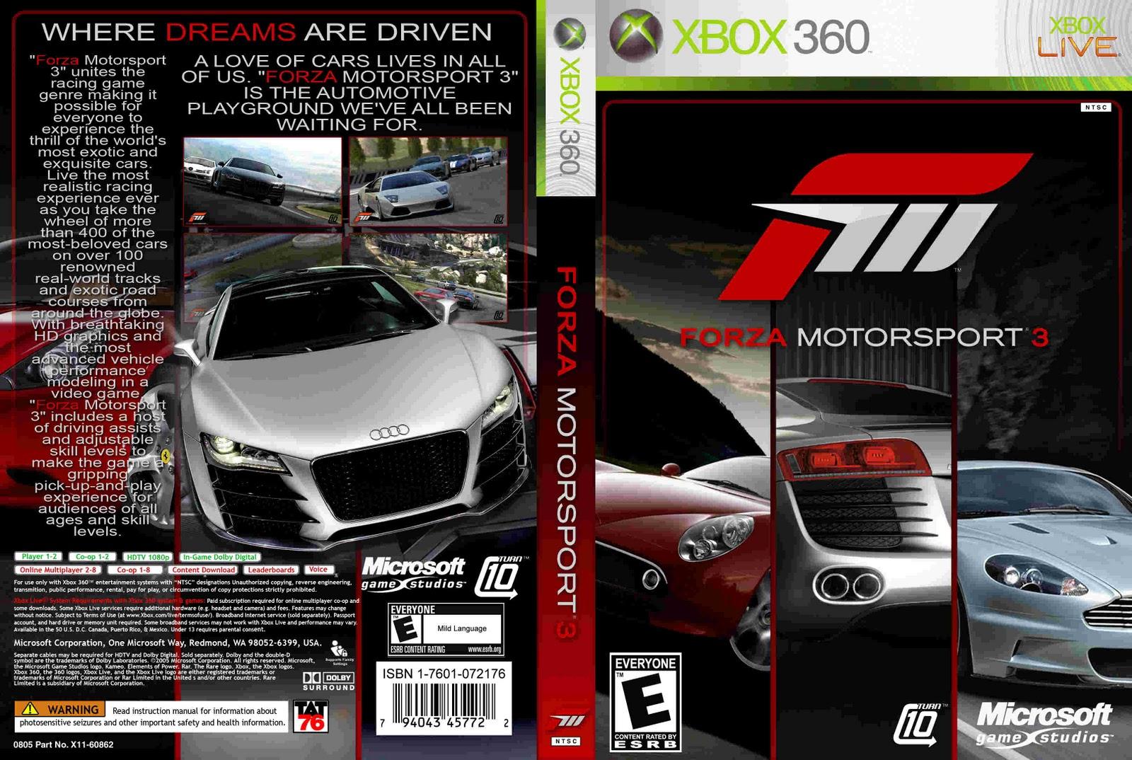 Forza Xbox 360