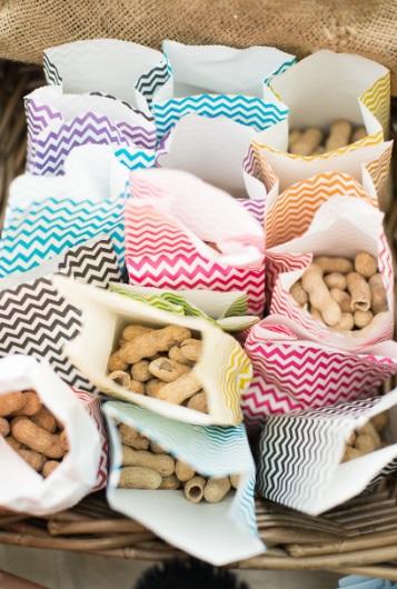 candy bar sac à bonbons chevron