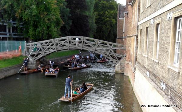 Puente Matemático (Cambridge, Inglaterra)