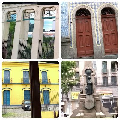 Prédios tombados de Santos