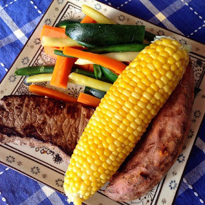 Steak with lots of Vegetables