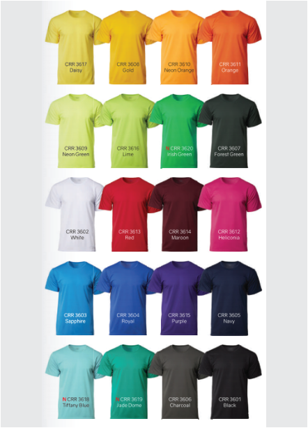Performance Tee Color