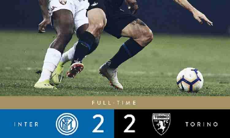 Hasil Inter Milan vs Torino Skor Akhir 2-2 [ Serie A 2018]