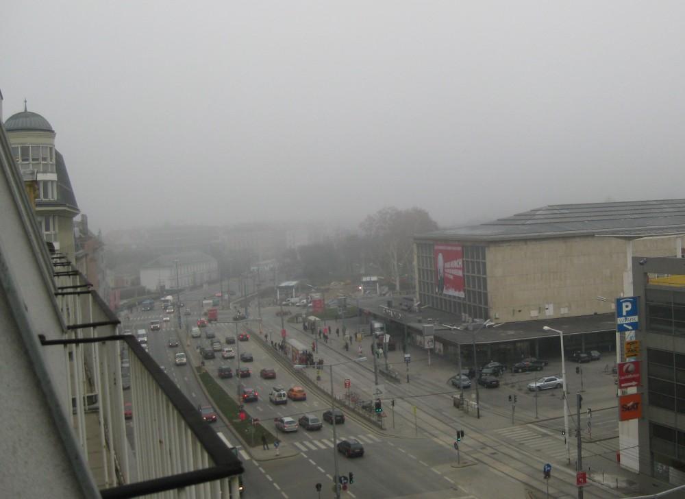 Wien - Blick aus dem Hotelzimmer
