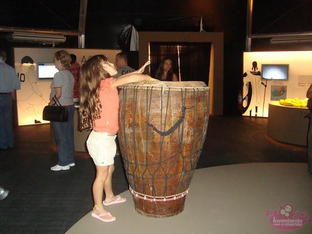 Exposição África no Forte de Copacabana