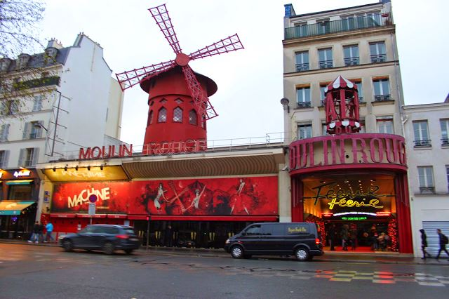 Moulin Rouge paris frança