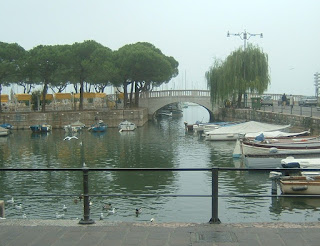 The pretty harbour at Desenzano del Garda