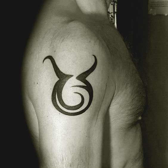 Best Taurus symbol Tattoos for boys