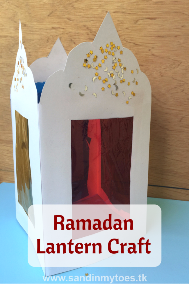 Busy Hands Ramadan Lantern Craft Sand In My Toes