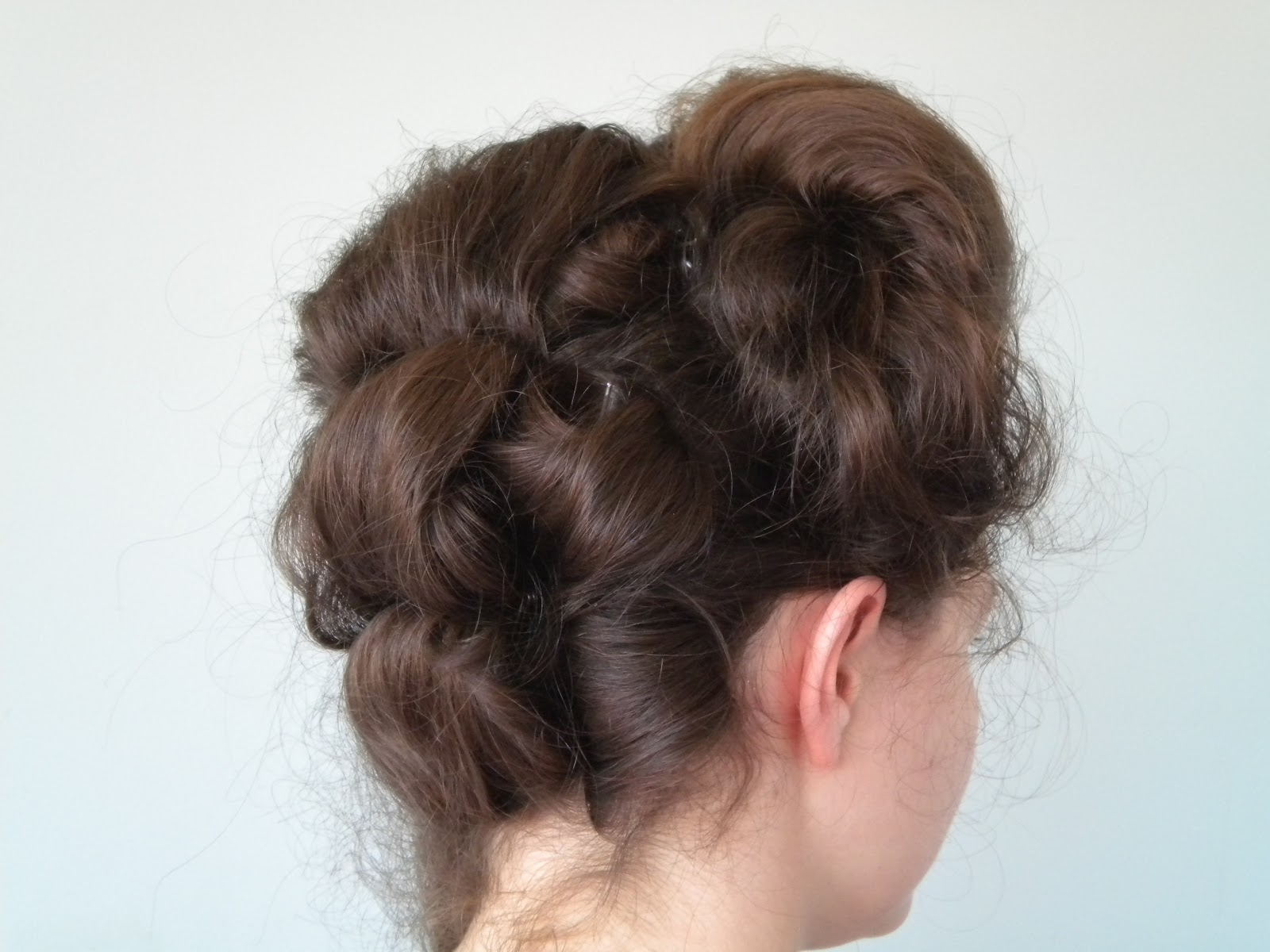 B Styled Hair Collection: Hair Styles: Classic Georgian Hairstyle