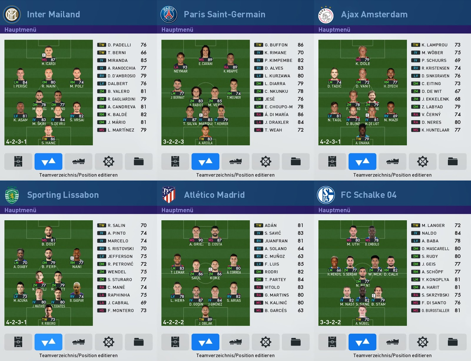 PES 2019 Miniface Pack Vol. 1 by 1002MB