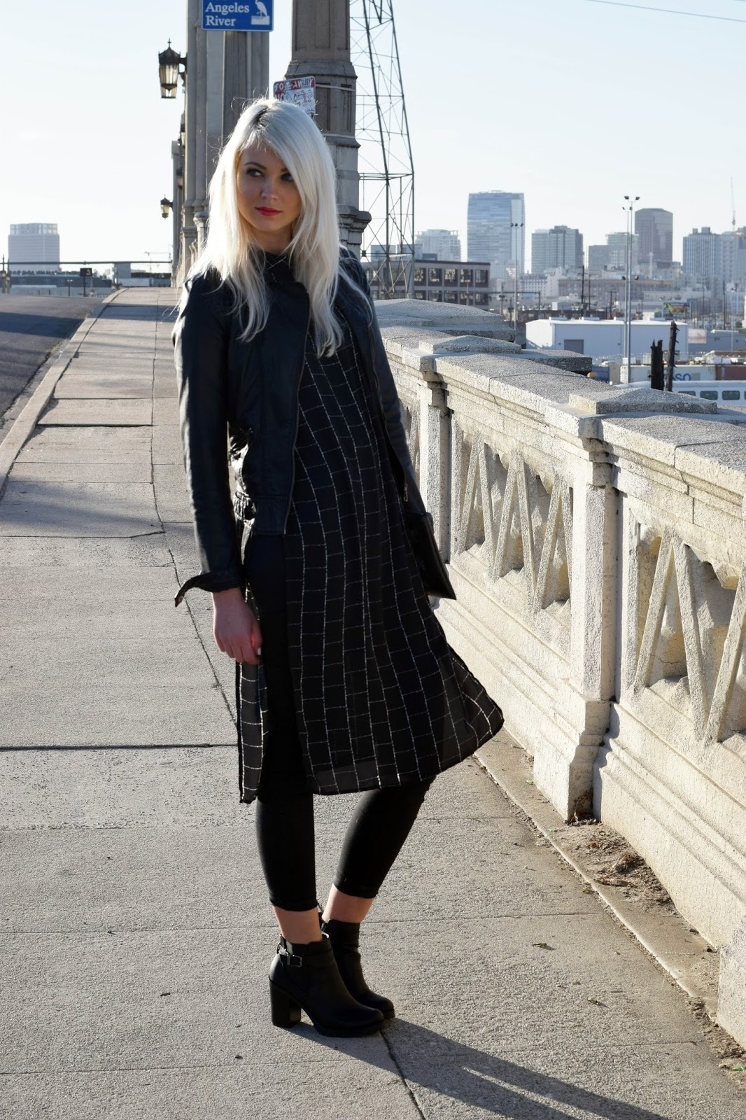 long blouse, german blondy, how to style a long blouse, teen 17 fashion, los angeles