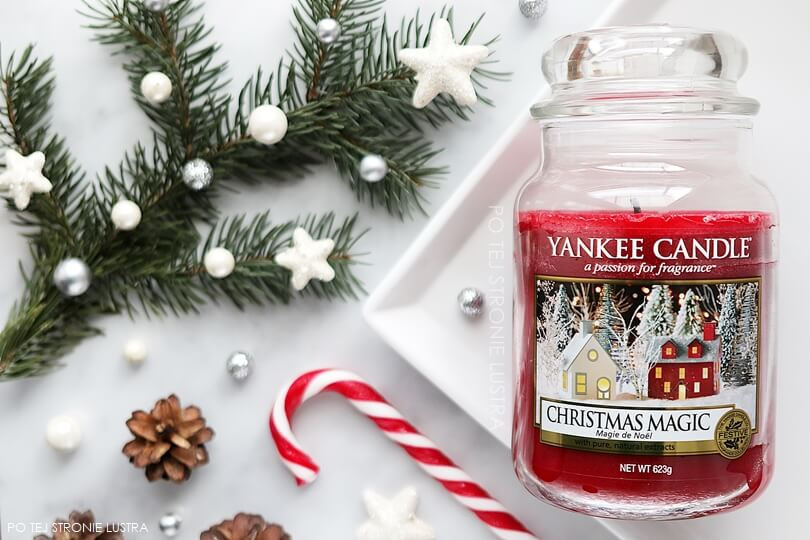 świeca christmas magic yankee candle