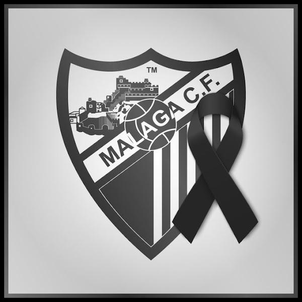 El Málaga lamenta el fallecimiento de Michael Robinson