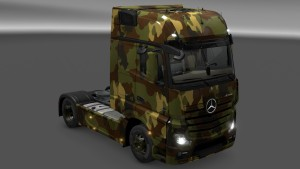 Mercedes MP4 Camo Paint