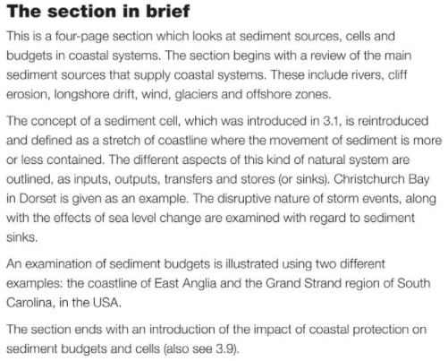 A Level Geography Blog: Coastal Systems and Management