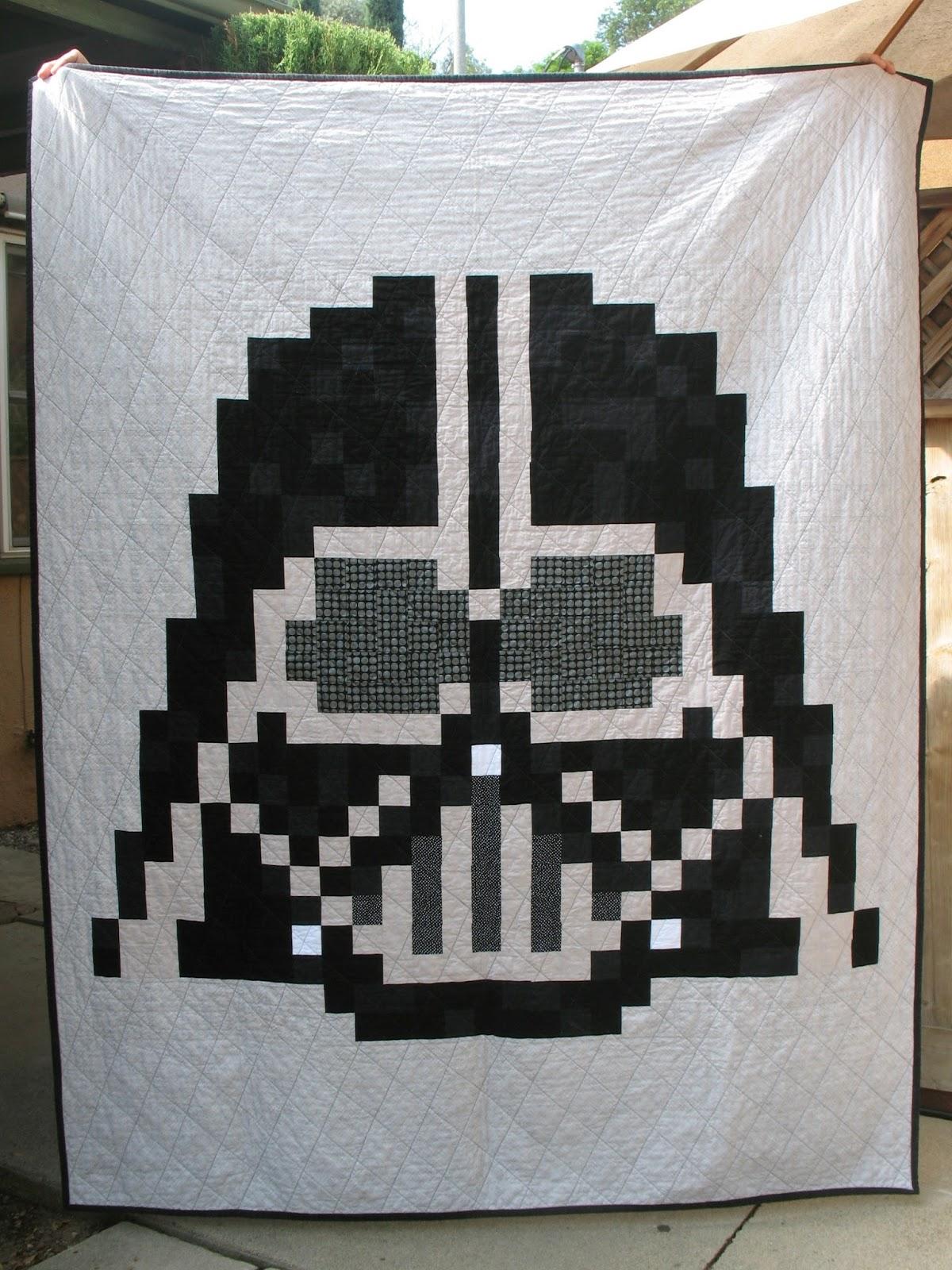 Ye Olde Sweatshop Darth Vader Quilt 44