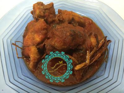 ayam masak bali, ayam bali, masak ayam, masak simple,
