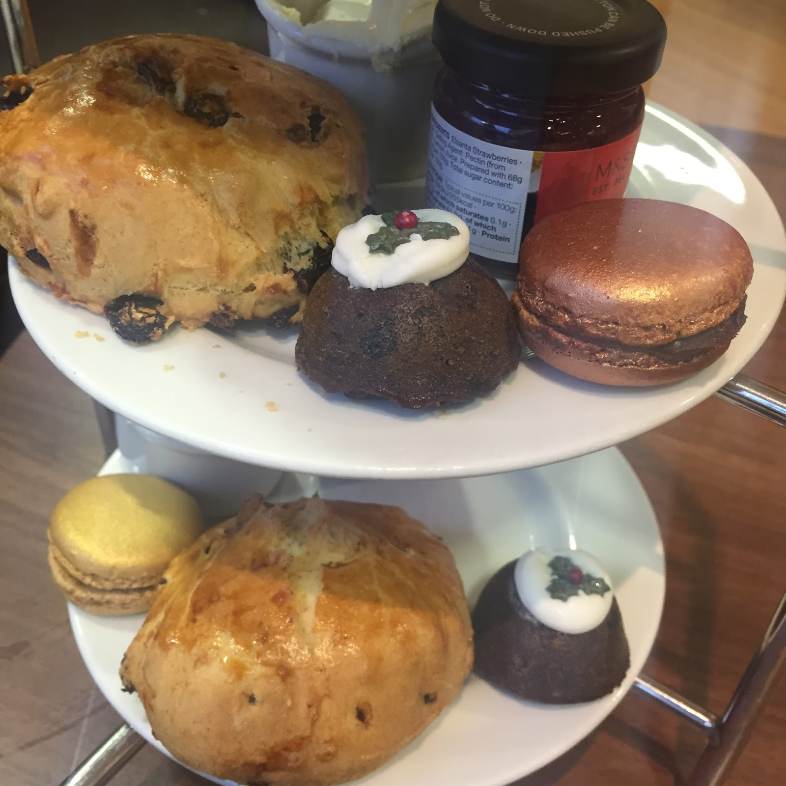 m&s marks & spencer cafe christmas afternoon tea kirstie pickering blog blogger bloggers