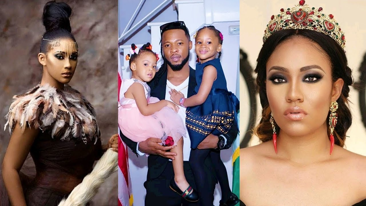 Flavour And Anna Banner At War Over New Baby with Sandra Okagbue (Details)