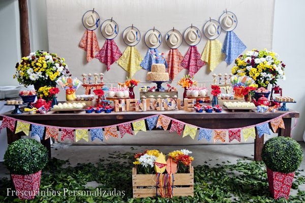festa junina de aniversário