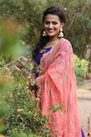 Actress Shraddha Srinath in Purple Chania Choli Cute Pics ~  Exclusive 31.jpg