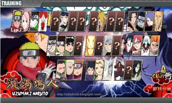 Game Naruto Senki Overcrazy