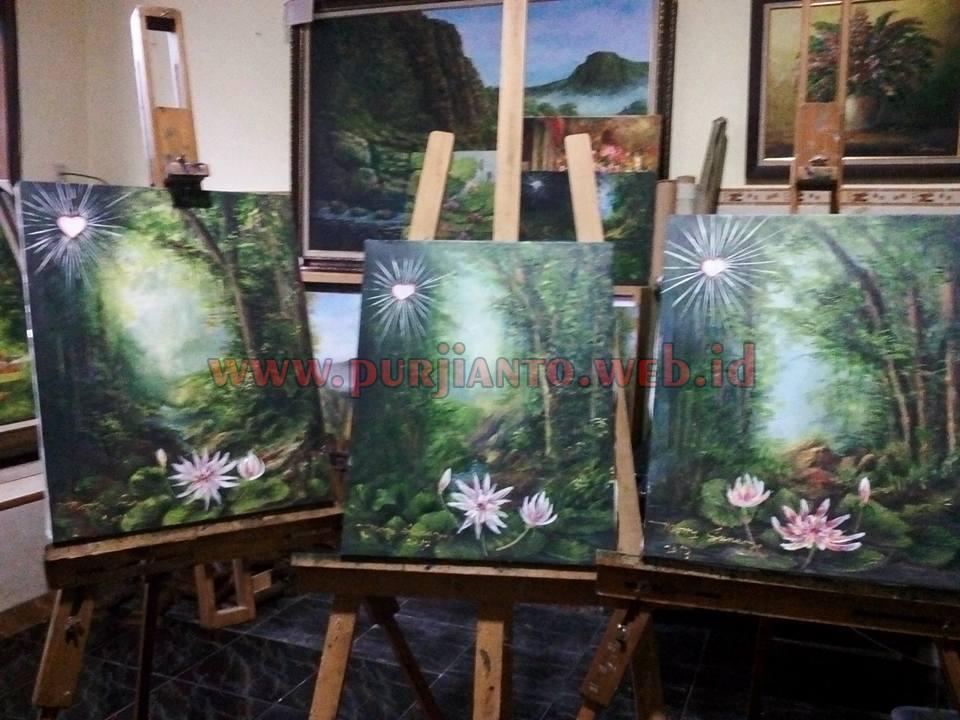 Morry Sunaryo Pelukis yang melanglang buana di dunia seni lukis