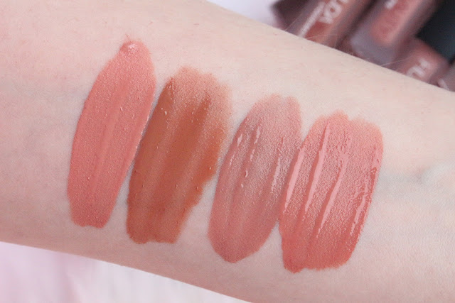 Huda Beauty Liquid Matte Minis Nude Love Collection